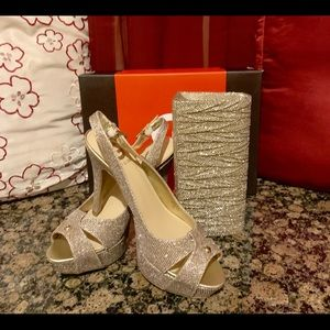 Shoes and Matching purse set